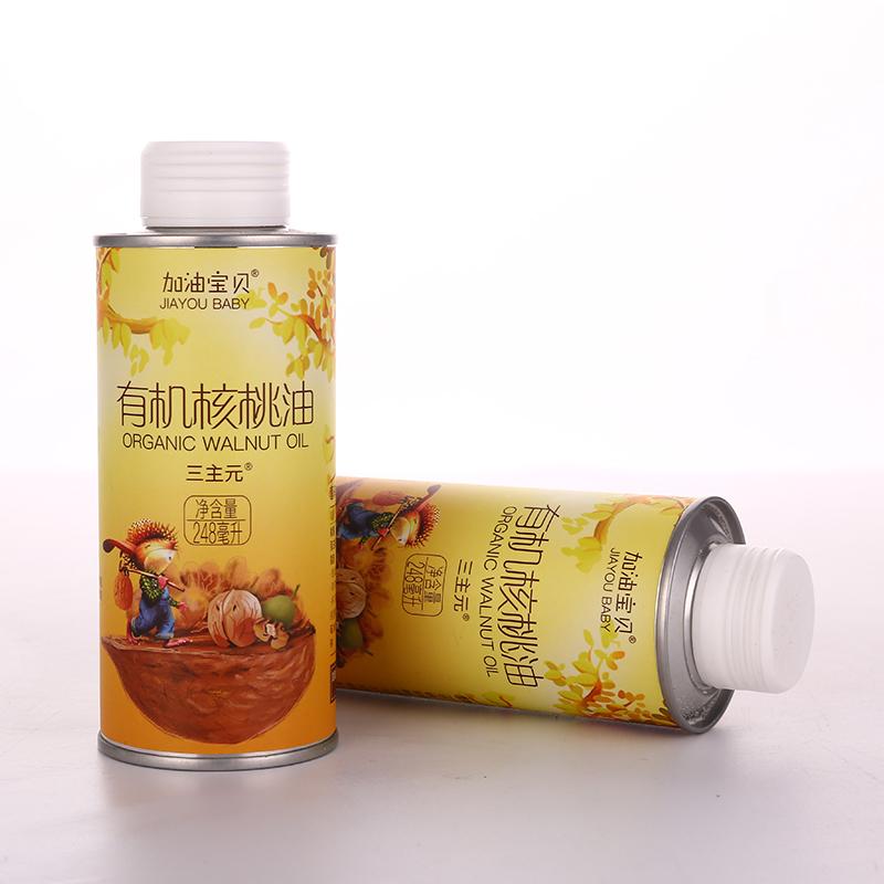 加油宝贝-核桃油(马口铁248ml)